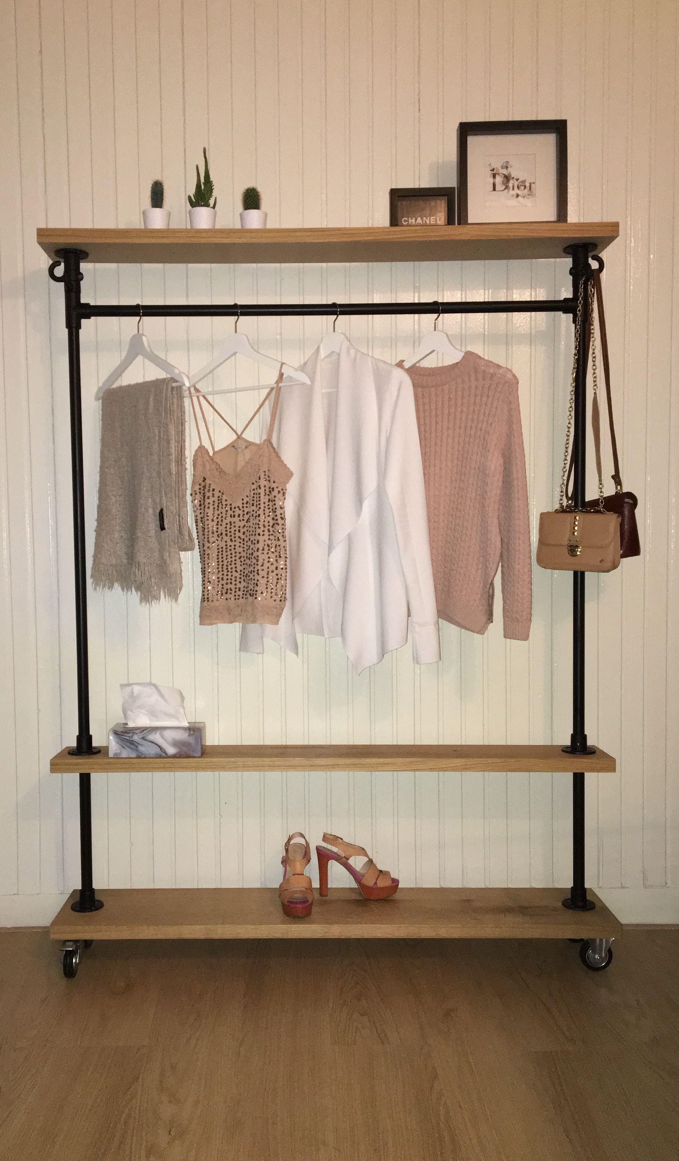 Industrial clothing rack garment rack industrieel kledingrek