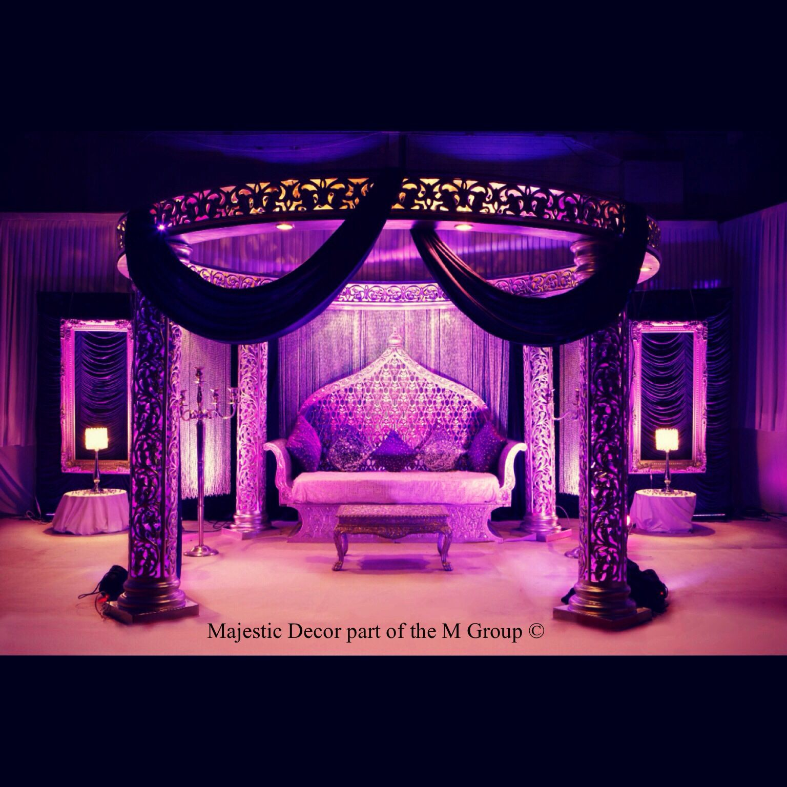 Korean wedding stage decoration  Majestic Regal Collection Every bride wants to feel like royalty on