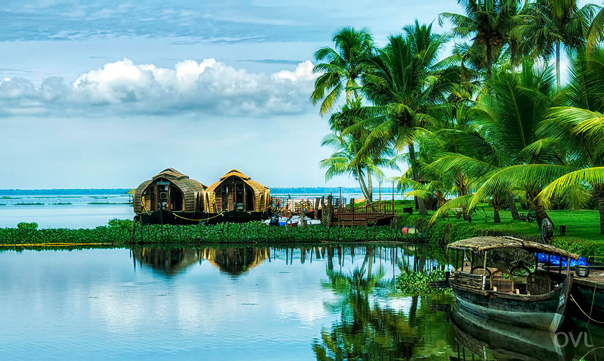 The Alleppey which is known as ' The Venice Of The East