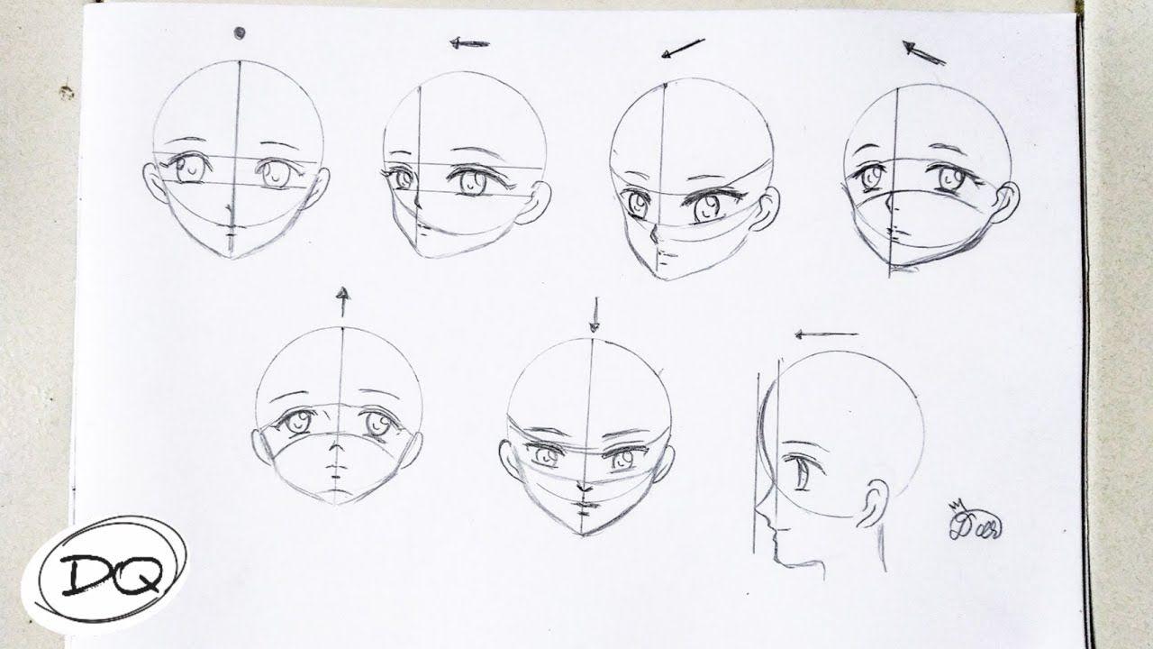 Sketsa Hidung Anime Di 2021 Sketsa Menggambar Wajah Menggambar Kepala