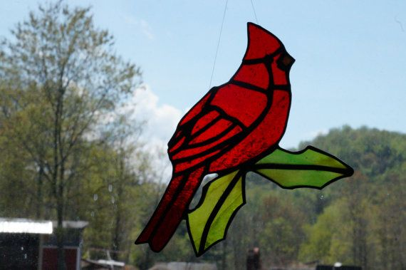 Cardinal de vitraux