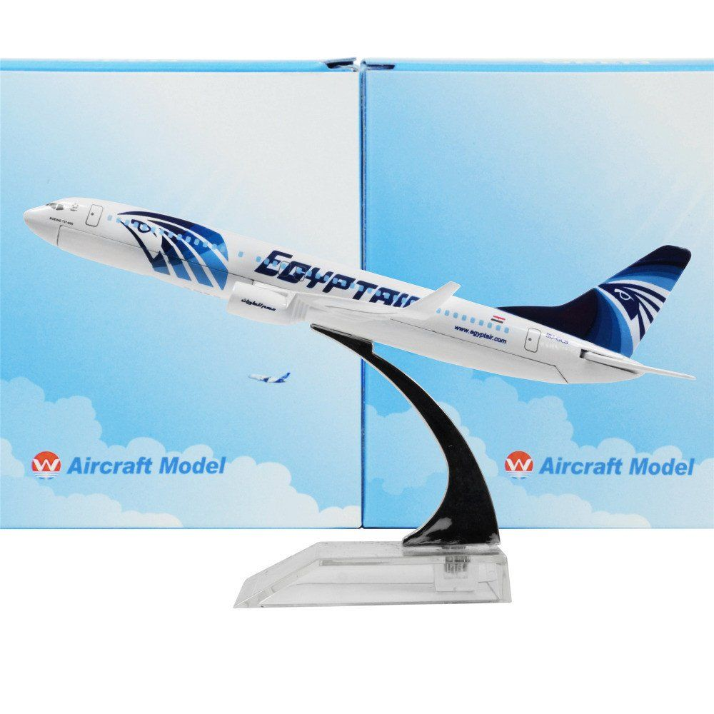 Egypt Air Boeing 737- 800 16cm