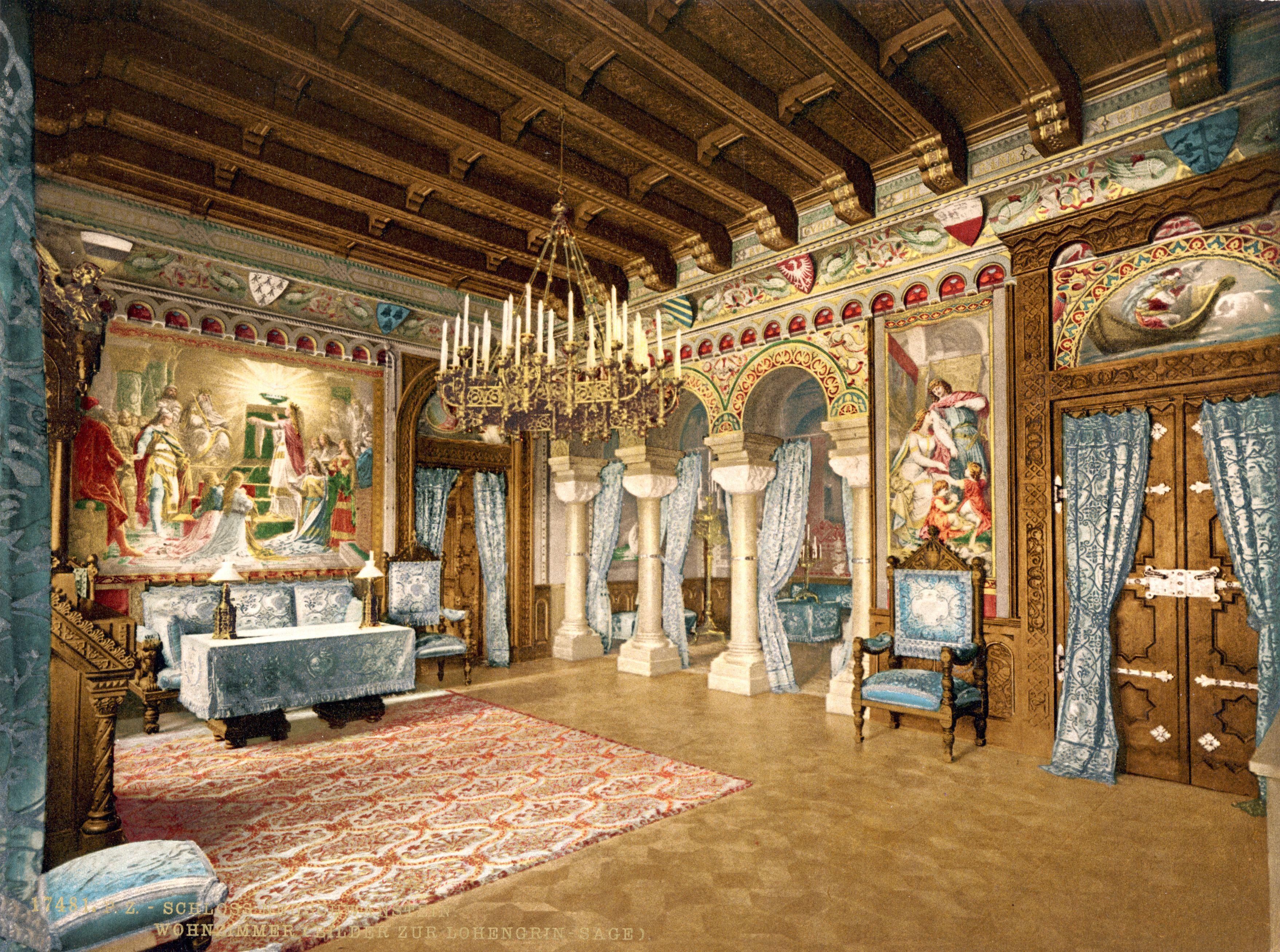 Drawing Room Of Neuschwannstein Castle 4320x2880 Http Ift Tt 2o45ynu Castle Rooms Neuschwanstein Castle Castles Interior