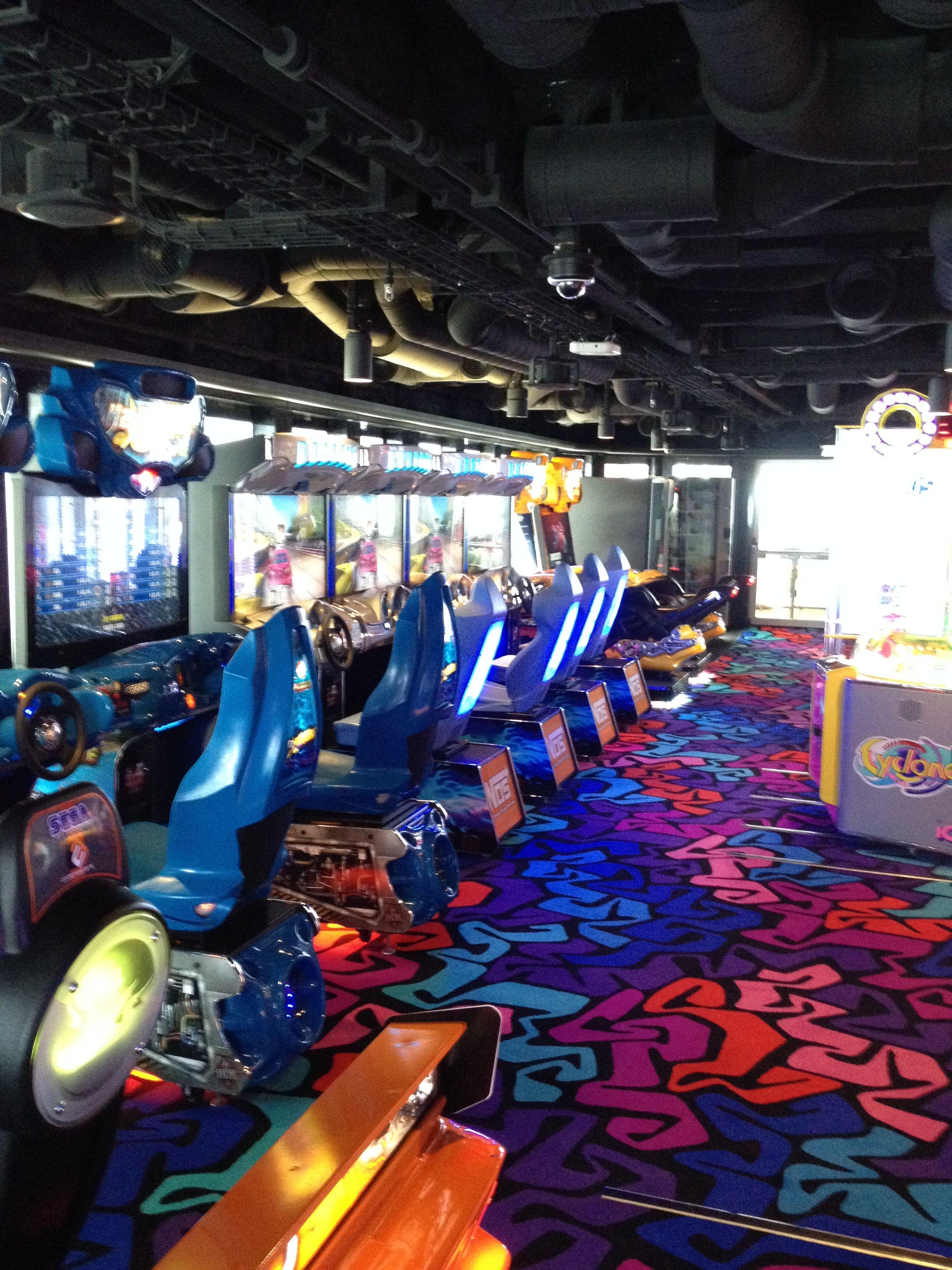 Video Arcade Room Onboard The Norwegian Breakaway