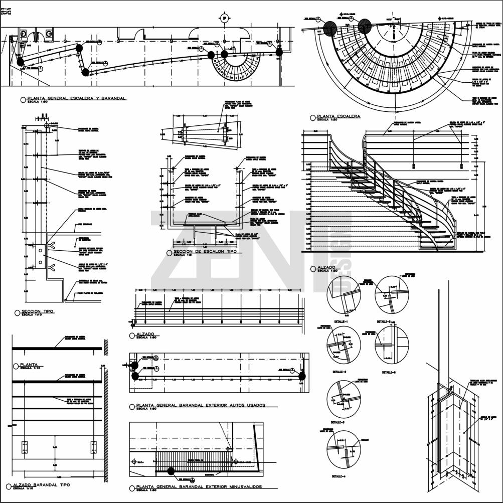Planta De Estructura Metalica