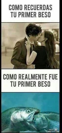 Tu Primer Beso Jajajaja Spanish Quotes Funny Humor Funny Quotes