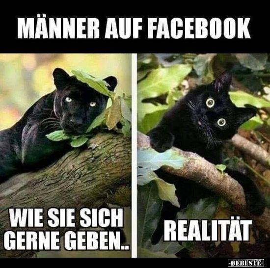 Männer auf Facebook...