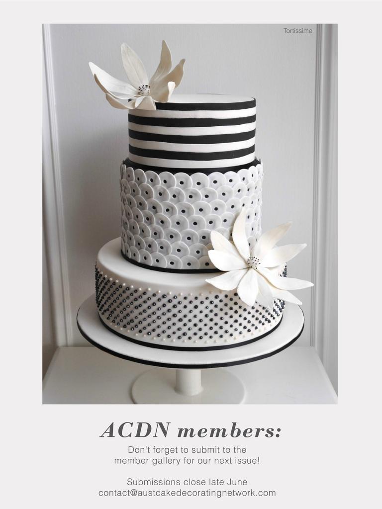 Cake! magazine by the Australian Cake Decorating Network