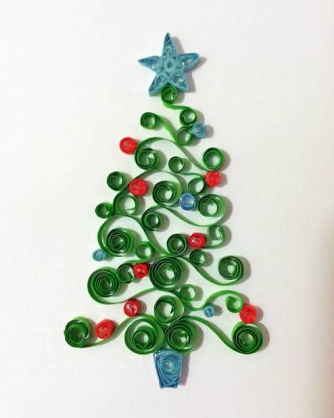 Christmas Tree Quilled Creations Quilling Gallery Quilling Christmas Quilling Patterns Quilling Designs