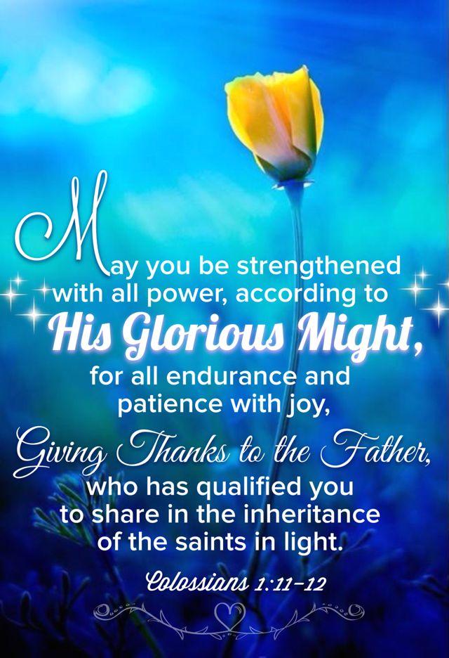 Colossians 1:11-12