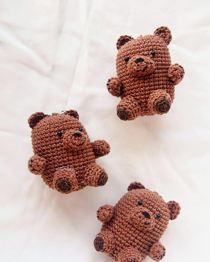 CROCHET PATTERN: We Bare Bears Inspired Baby Bear   Kawaii crochet ...   900x720
