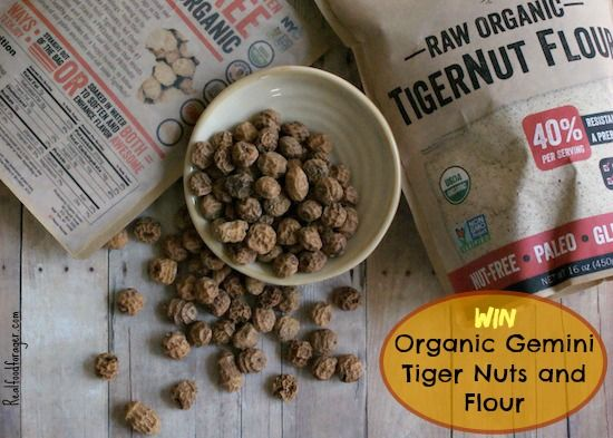 Post Image For Giveaway Bag Of Organic Gemini Tiger Nuts And Tiger Nut Flour 5 Winners Real Food Recipes Food And Drink Clean Eating Recipes