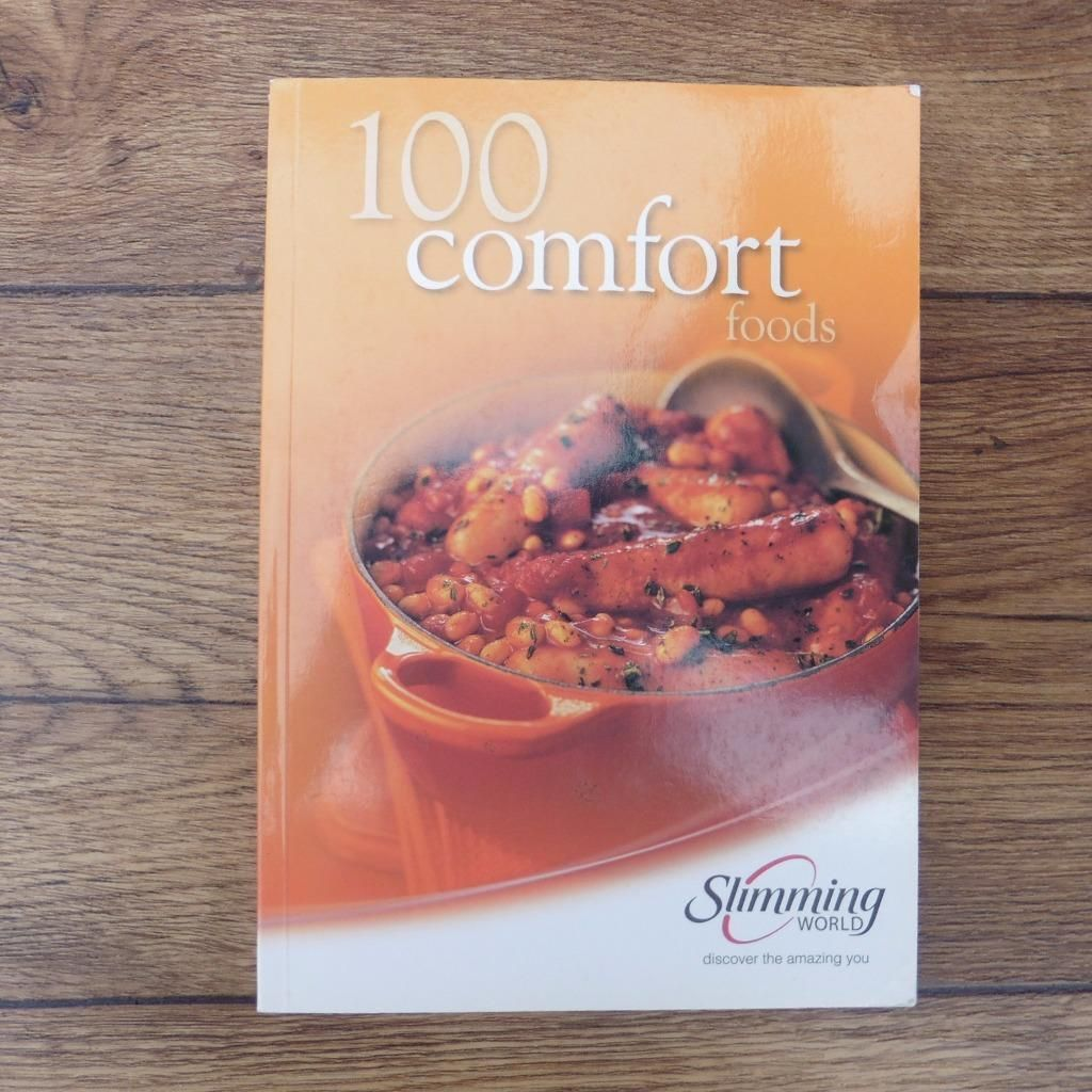 Details about slimming world 100 comfort foods cookery book cook food slimming world 100 comfort foods cookery book forumfinder Images