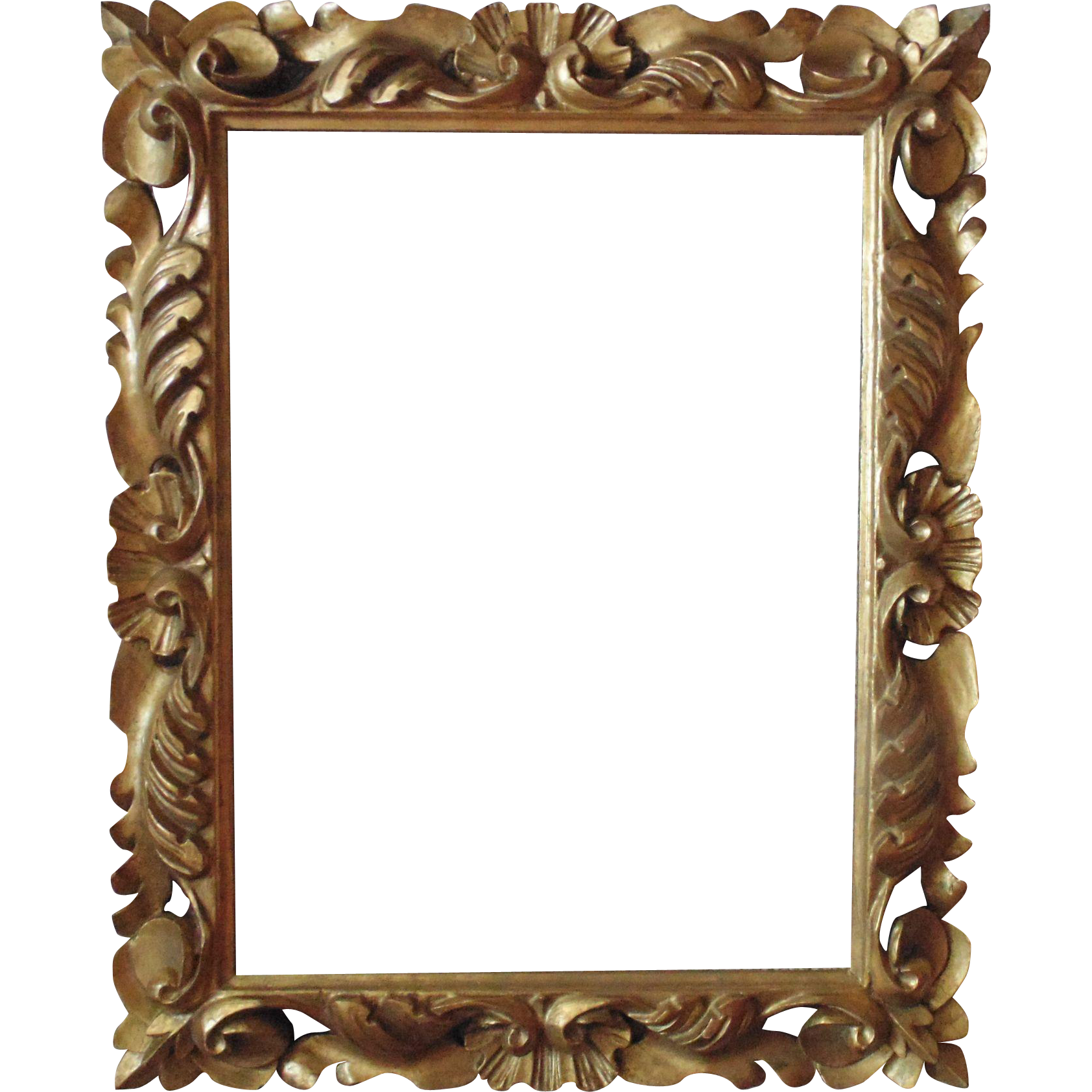 Painting Frames Italian Carved Wood Picture Frame For Print Painting