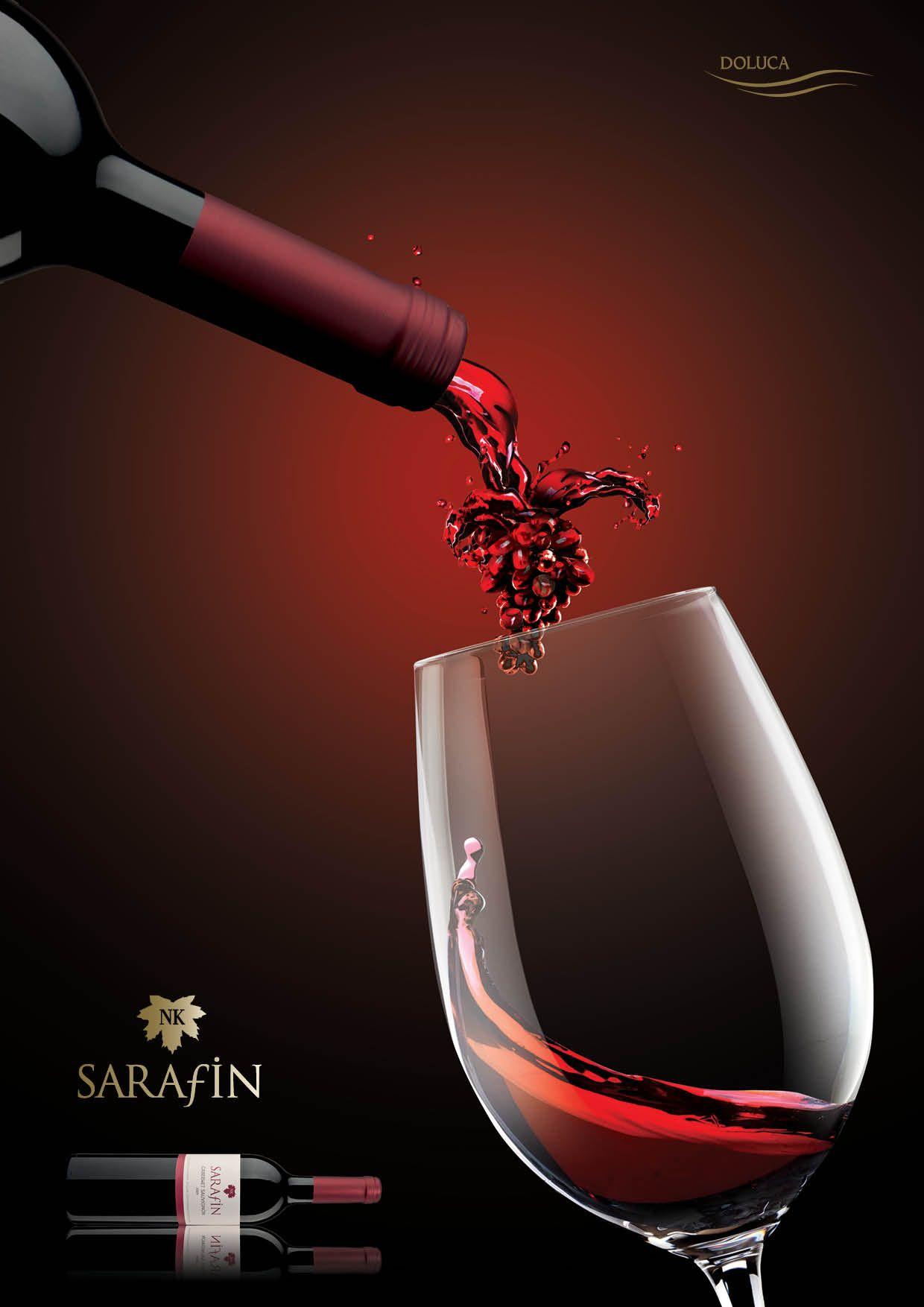 Sarafin Cabernet Sauvignon Wine Pairing Wine Advertising Wine