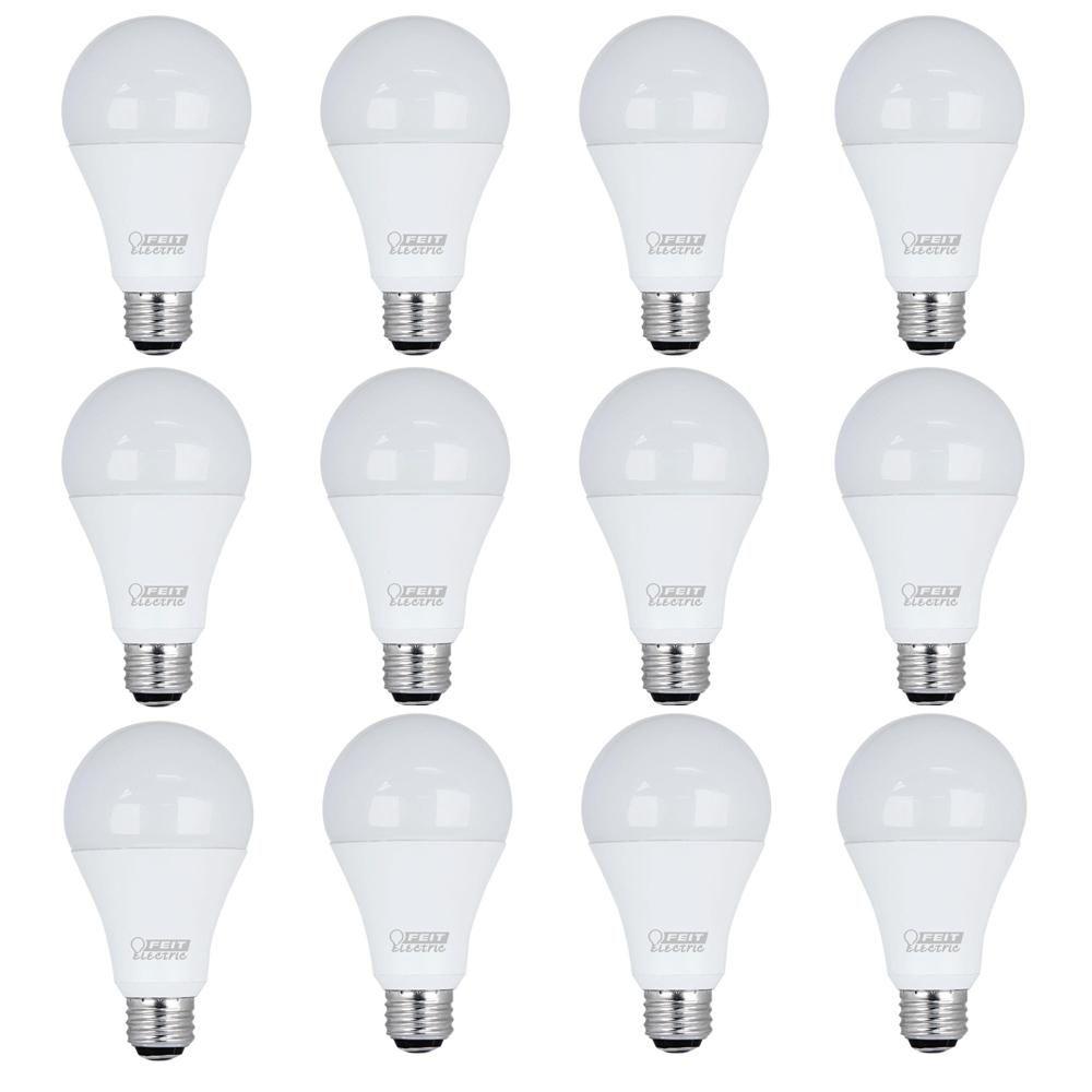 50 100 150w Equivalent Daylight 5000k A21 Led 3 Way Light Bulb