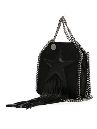 Stella McCartney tiny  Falabella Fringed Star  tote   Carteras ... cec36cd277