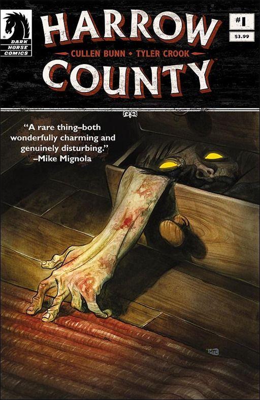 Preview Harrow County 1 By Bunn Crook Dark Horse Comics Harrow Horror Comics