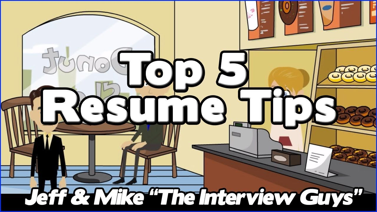 How To Write A Resume  Our Top  Resume Tips That Will Get You
