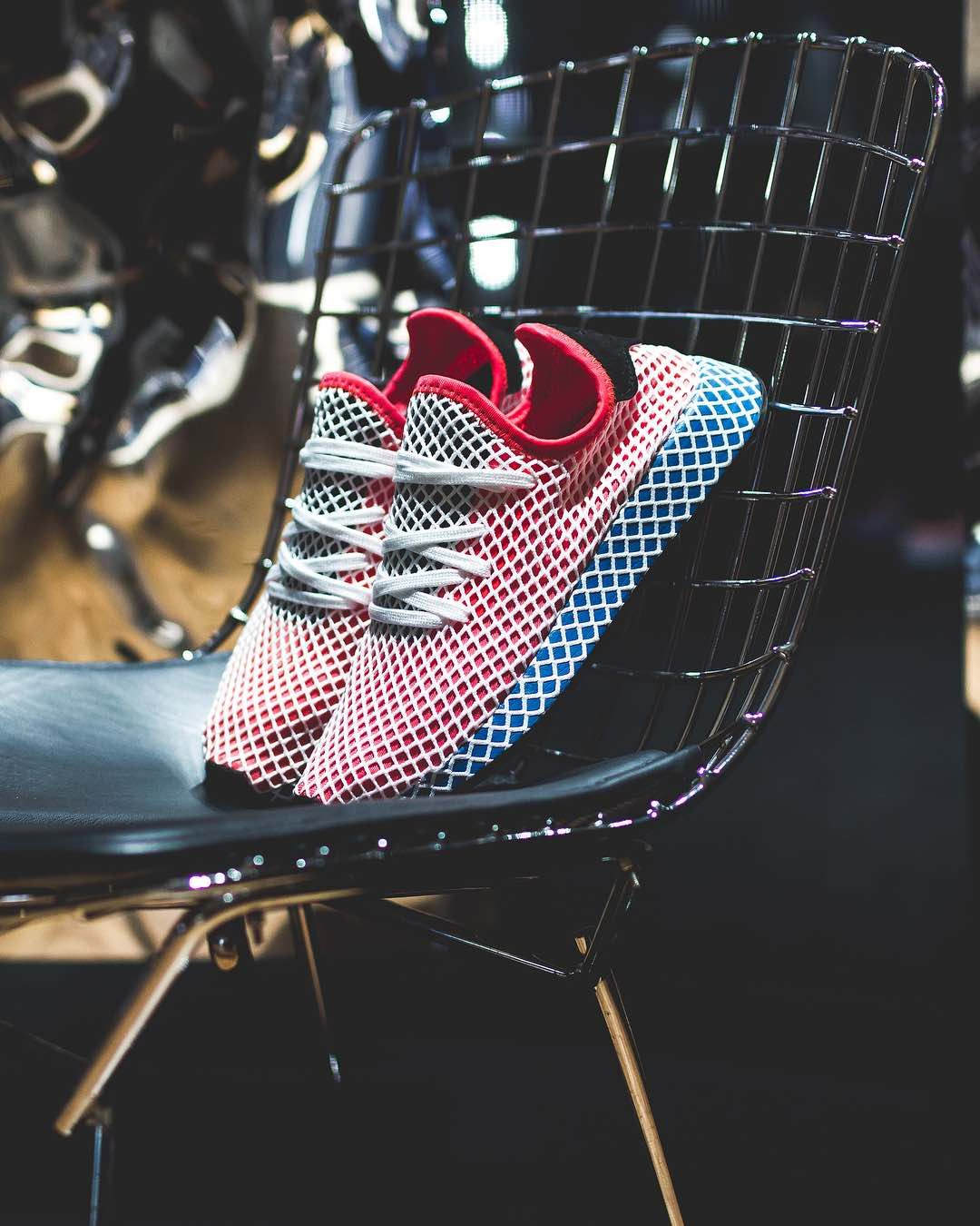 Adidas Deerupt Runner Solar Red Bluebird | Shoes