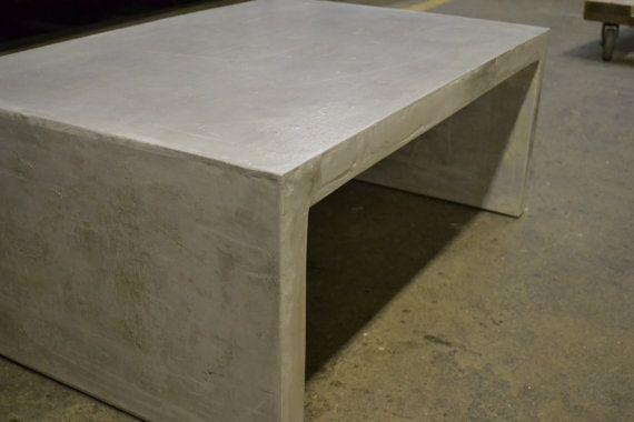 Concrete Slab Coffee Table Concrete Furniture By Decoratelier - Concrete slab coffee table