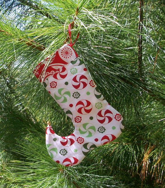 Gift Card Holder Christmas Stocking Ornament Elf Toe Jingle Bells
