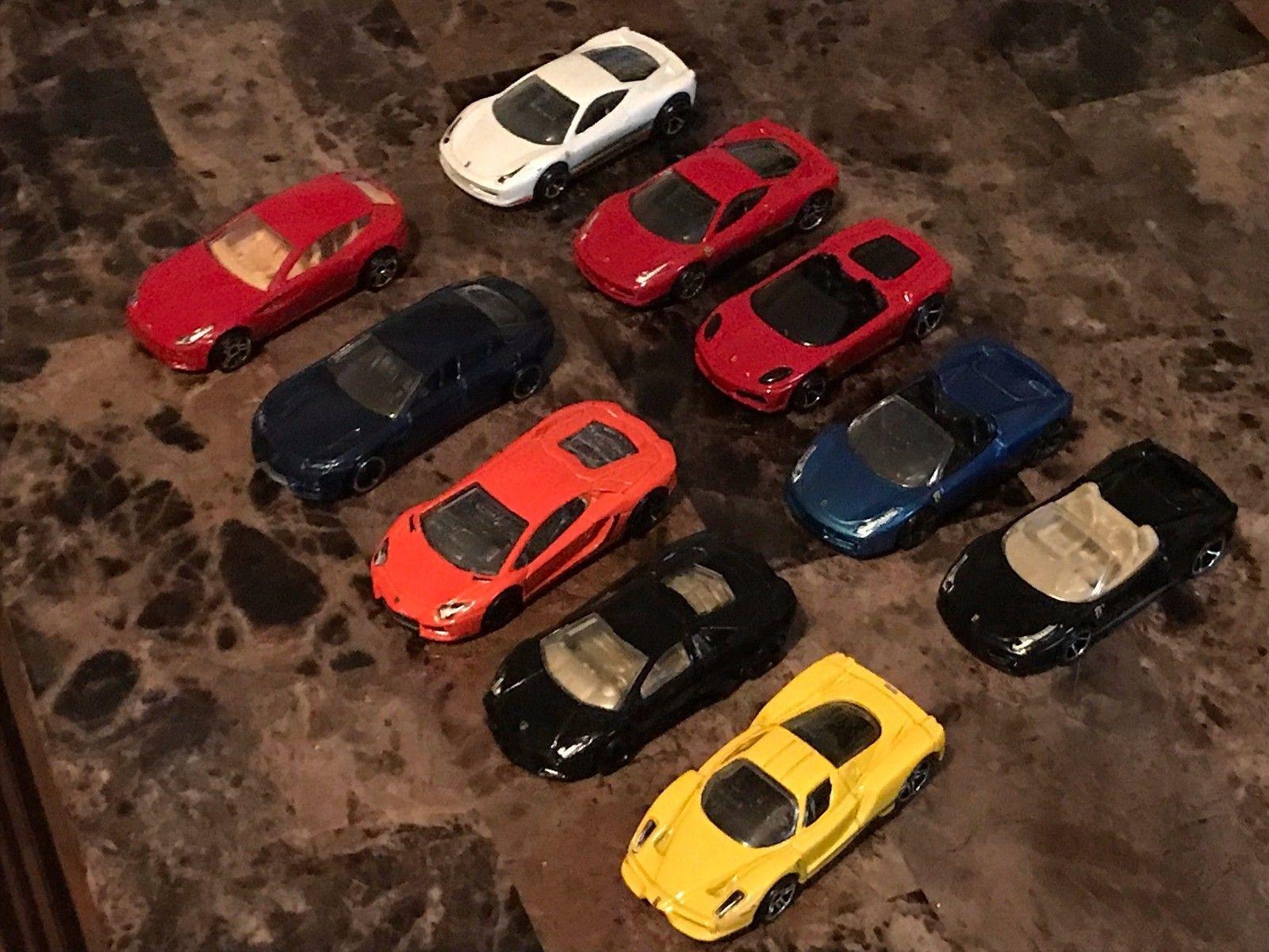 Cool Awesome Hot Wheels Ferrari Enzo F430 458 FF Lamborghini Aventador LP  700 4 Estoque