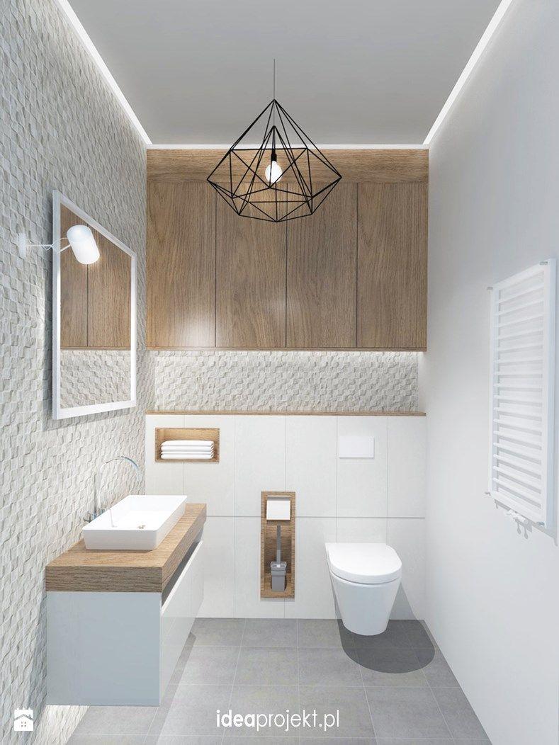 Gäste WC im skandinavischen Stil | Home Ideas in 2019 | Badezimmer ...