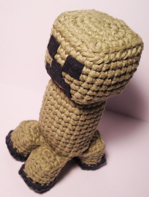 Amigurumi Minecraft Creeper with Pattern | crochet ami | Pinterest ...