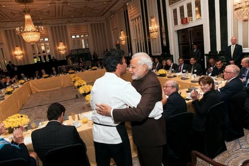 Proud moment; chef Vikas Khanna cooked for prime minister Narendra Modi!!