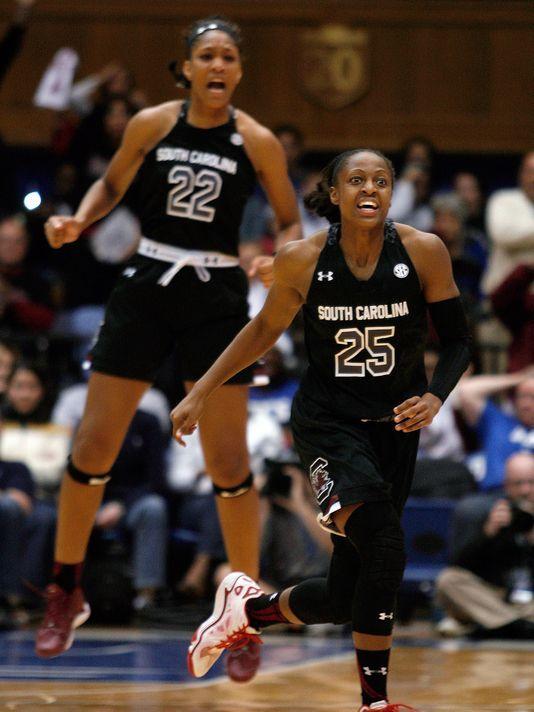 Tiffany Mitchell Basketball Google Search Usc Basketball Womens Basketball Gamecock Basketball