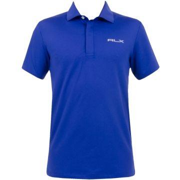 RLX Ralph Lauren Airflow Hidden Placket Jersey Foster Blue #golf #fashion #trendygolf