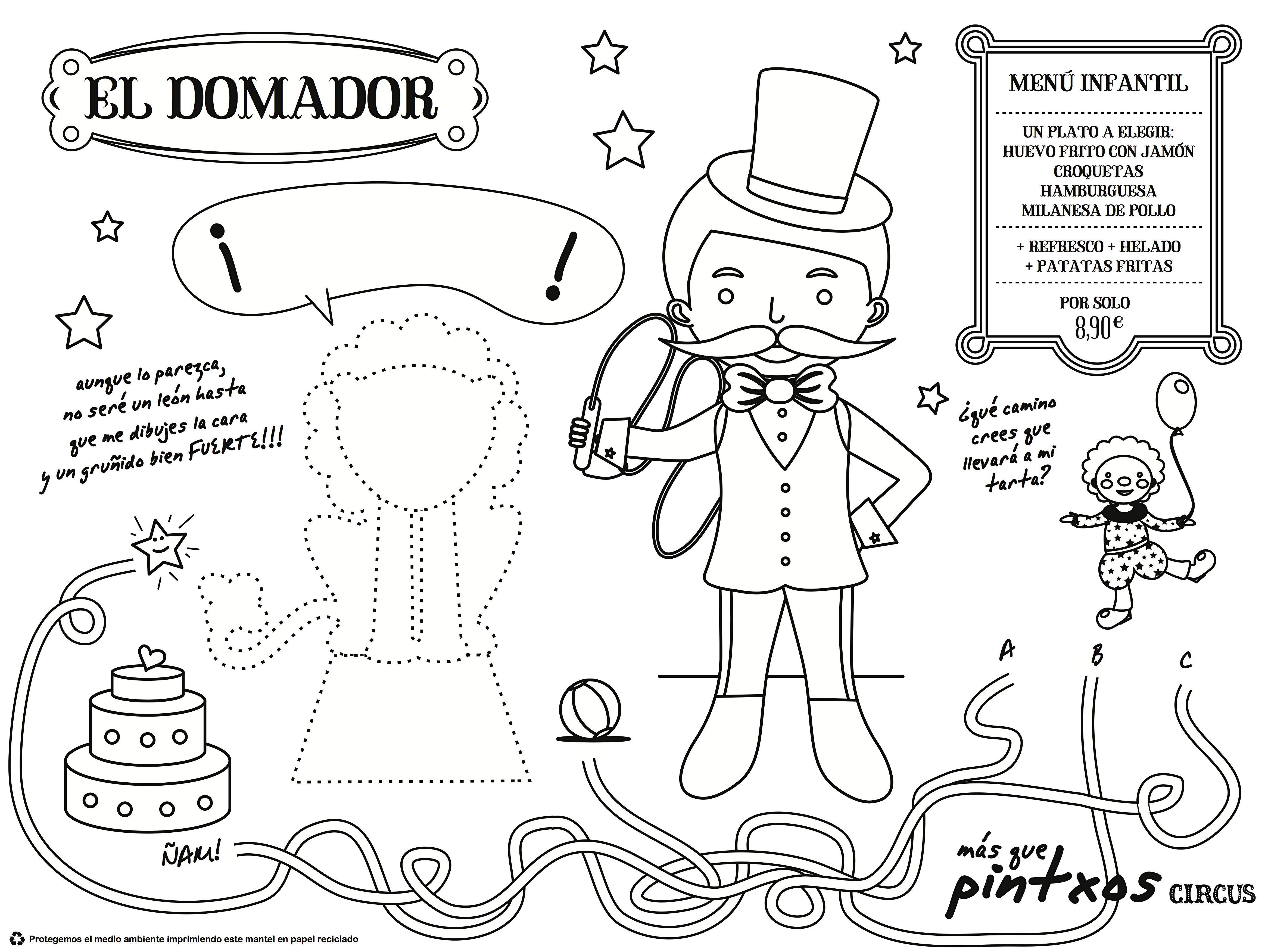 Nuevo Mantel Kids Para Colorear Ya En Nuestros Restaurantesel