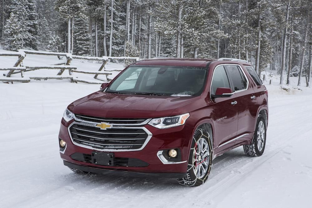 2019 Chevrolet Traverse Grows More Powerful Adds Options Packages The Spokesman Review Chevy Traverse 2019 Chevrolet Traverse Chevrolet Winter Driving