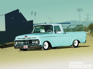 Check Out The 1963 Ford Uniboy That Has A Buick 350 Engine Hei