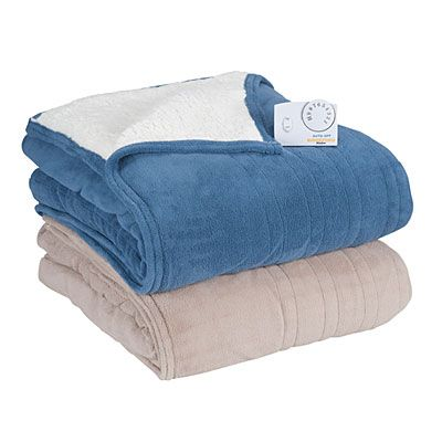 Biddeford™ Sherpa Queen Size Heated Electric Blankets at Big Lots ...