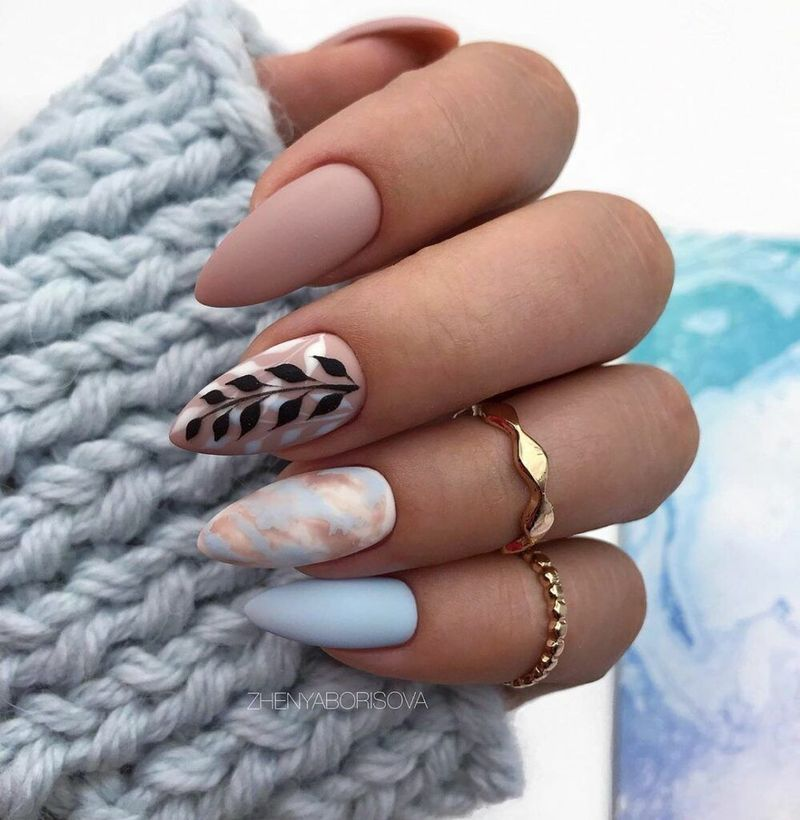 40 Best Acrylic Spring Nail Designs Trending In 2020