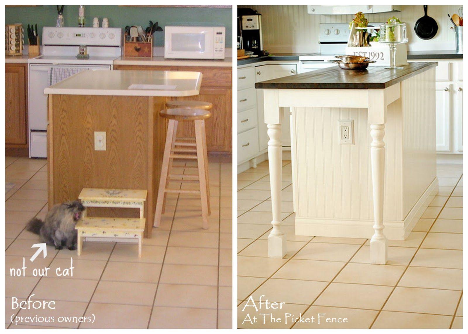 My Kitchen Island Transformationpart One  Kitchen Island Best Kitchen Islands Ikea Review
