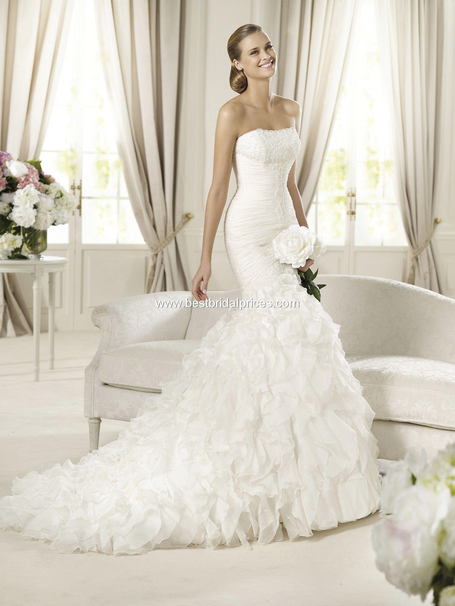 Pronovias Wedding Dresses - Style Davinia | Wedding inspiration ...
