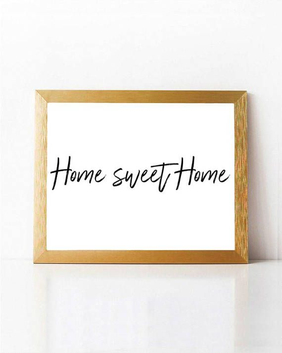 photo relating to Welcome Home Sign Printable identified as Dwelling Lovable House Print Welcome Household Indicator PRINTABLE