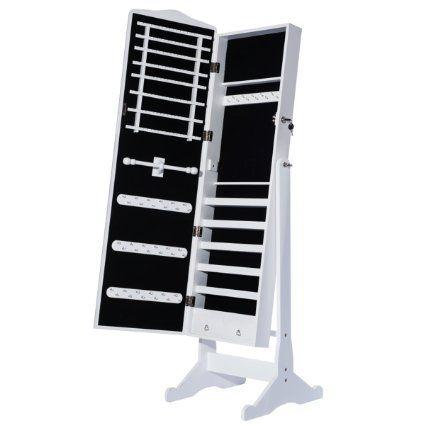 Spiegel Standspiegel dxp 156 x 41 x 38 cm schmuckschrank spiegelschrank standspiegel weiß