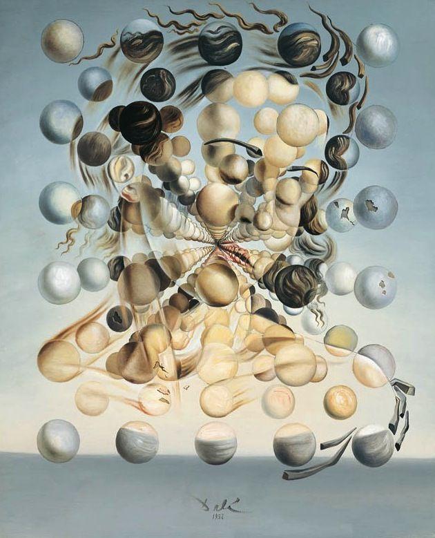 Galatée aux sphères, par Salvador Dali | Inspiration art - couture ...