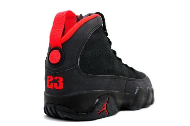 64dfd39ee07 Air Jordan 9 (IX) Original (OG) - Black / Dark Charcoal - True Red ...