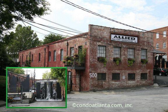 Allied Factory Lofts In Atlanta Georgia Industrial Buildings Atlanta Rooftop Patio