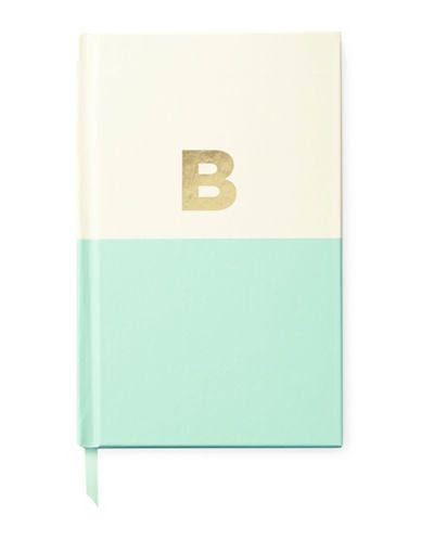 Kate Spade New York Dipped Notebook, T Women's Light Blue