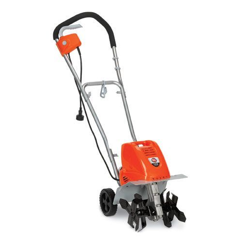 dr corded rototiller/cultivator compact and powerful garden tiller ...