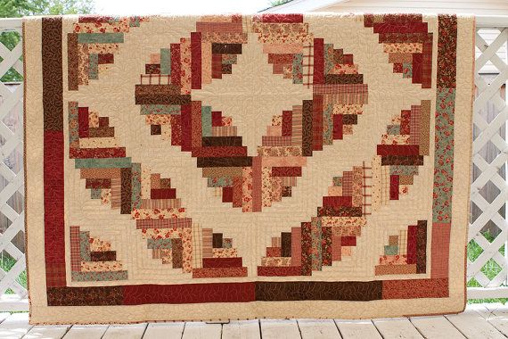 Pin By Quilting With Judy Martin On Log Cabin Quilts Log Cabin Quilts Log Cabin Quilt Log Cabin Quilt Pattern