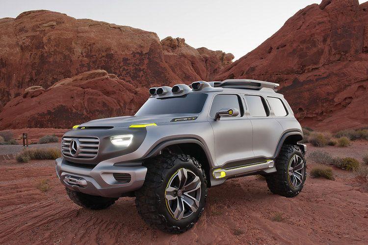 Mercedes Reveals The Badass Eco Suv Of The Future Mercedes Benz