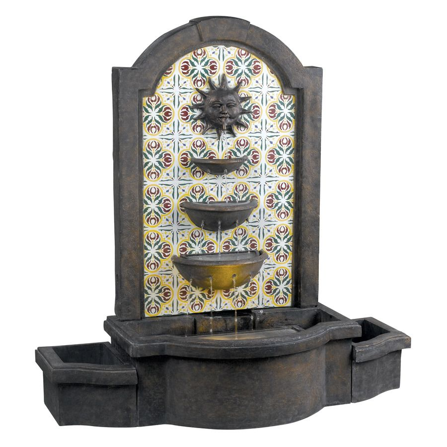 Shop Kenroy Home Cascada Fountain At Lowes Com Fountains Outdoor Outdoor Fountain Outdoor Flooring