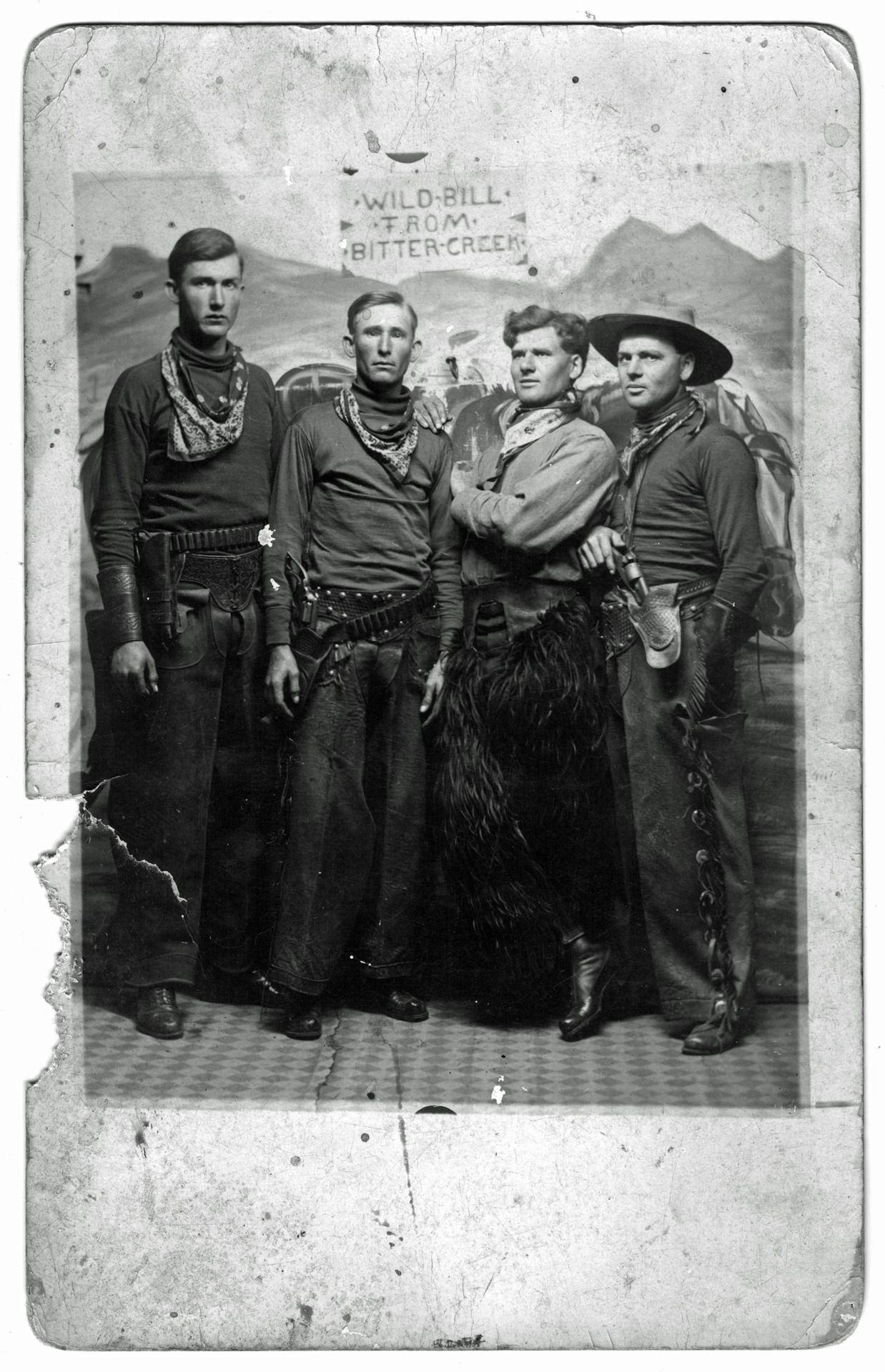 5b6d41bd1e4 Vintage cowboy buddies Wild Bill from Bitter Creek